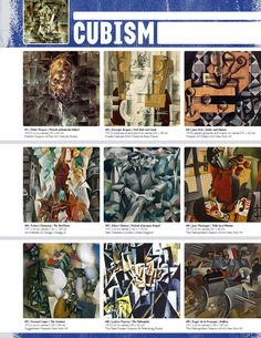 Resource: CUBISM (Movement Binder Notes)