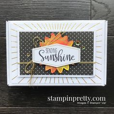 Box of Sunshine June 2020 Paper Pumpkin Alternate #1 Mary Fish, Stampin\' Pretty Happy Birthday Funny, Birthday Humorous, Sister Birthday, Funny Happy, Box Of Sunshine, Charm Pack Quilts, Stampin Up Paper Pumpkin, Mary Fish, Stampin Pretty