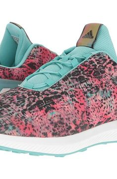 size 40 84e70 83c88 adidas Kids RapidaRun Uncaged (Little KidBig Kid) (Easy CoralWhiteEasy  Mint) Girls Shoes