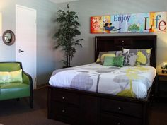 Get inspired to transform your teen bedroom into the ultimate hangout spot with these HGTV.com photos.