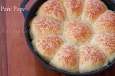 Pani Popo are Hawaiian dinner rolls, baked in a pool of coconut milk.  A holiday dinner favorite at the Parker's!