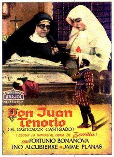 """""""Don Juan Tenorio"""" (1922) Realización: Ricardo de Baños"""
