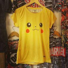#nuevomodelos #pokemon #pikachu #remeras @irarte y www.estampado.com.ar