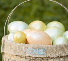 Capiz Eggs Vase Filler from Pottery Barn #poachit