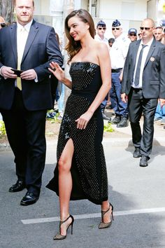 Cannes 2015: Best Looks From The Red Carpet | The Zoe Report.  Must find these shoes!