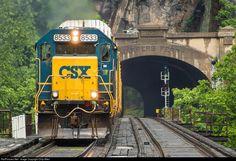 RailPictures.Net Photo: CSXT 8533 CSX Transportation (CSXT) EMD SD50-2 at Harpers Ferry, West Virginia by Chip Allen