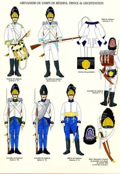 Австрия 1792-815гг. Венгерская пехота.   61 фотография