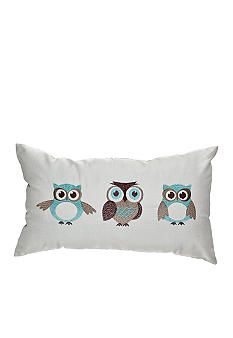 Spencer Three Owls Decorative Pillow - I have this! Owl Mosaic, Owl Bags, Owl Quilts, Owl Pillow, Felt Owls, Owl Always Love You, Owl Crafts, Owl Patterns, Cute Owl