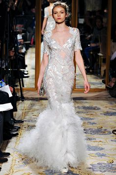 Marchesa Fall/Winter 2012 collection.