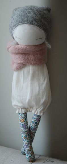 Jadhéo: Muc-Muc No pattern but so adorable. Would love a bjd like this.