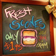 Fresh scones anyone???