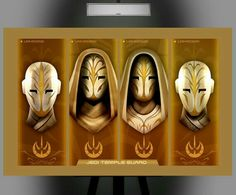 Jedi Temple Guards ~ Face Masks
