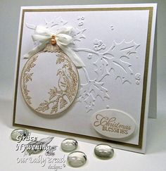 Our Daily Bread Designs November Sneak Peak by Designer Grace Nywening.  Grace showcases Turtle Dove and Cardinal Ornament sets.
