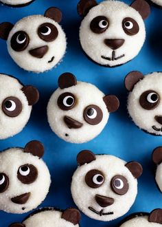 Easy Little Pandas Cupcakes