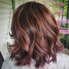 9 Chocolate Rose-Gold Hair Colors That'll Make You (Hair) Flip | Brit + Co