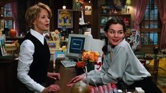 Movies Starring Bookstores (The Best of Book Riot) You've Got Mail (1998) LOVE their fashion!  It's punk nerd worthy fo sho :)