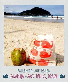 Guarujá - São Paulo, Brasilien Wal, Kind Mode, Coconut, Outdoor Decor, Artwork, Sao Paulo, Silk Screen Printing, Kids, Work Of Art