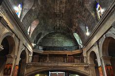 Tribunes de l'ancienne chapelle de la Maison des Dames de Saint Joseph. Bordeaux, Aquitaine