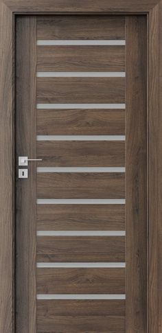Flush Door Design, Window Grill Design, Main Door Design, Front Door Design, Entrance Design, The Doors, Entrance Doors, Modern Entry Door, Balcony Railing Design