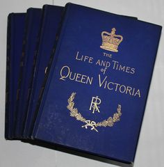 The Life and Times of Queen Victoria by Robert Wilson -Vol 1 - 4 Limited Edition- Hard Cover, Etsy.