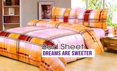 Buy online bed covers and designer bed sheets for single & double beds from Carpet & Textile. Find best offers & deals on cotton bed covers at best prices.