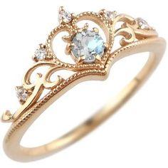 blue moonstone tiara ring