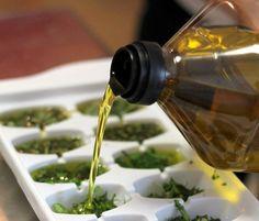 Cubos de Azeite ou Manteiga com Ervas