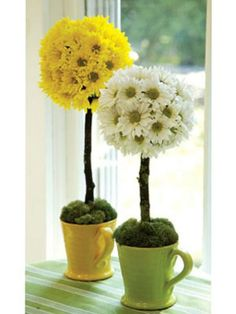 These cuties look sweet on perched a windowsill or tucked into bookcase.