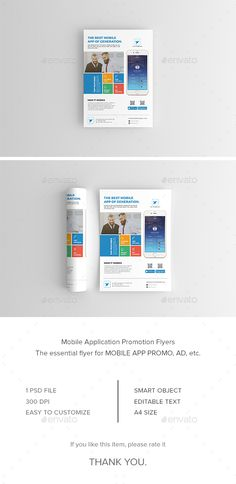 Buy Mobile App Flyer by kuttyma on GraphicRiver. Mobile App Flyer – Features Creative and Minimalist flyer, perfect for any personal or corporate use. It's ideal for . Free Flyer Templates, Flyer Layout, Games For Teens, Best Mobile, Corporate Flyer, Christmas Design, Mobile Application, Portfolio Design