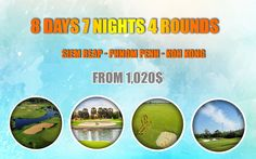 8 Days 7 Nights 4 Rounds  Siem Reap/Phnom Penh/Koh Kong at Angkor Golf Resort, Phokeetra Country Club, Garden City Golf Club and Dara Sakor Golf Resort  further information: info@psdtravel.com  #psdtravel #angkorgolfresort #phokeetracountryclub #gardencitygolfclub #darasakorgolfresort
