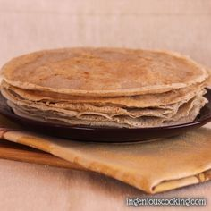 I've been baking buckwheat pancakes – or galettes, as they are called in their home country, Bretagne – for quite a while now. I loved them at first because they are made of 100% buckwheat flour, which is a gluten-free, wholegrain ingredient with a nutty flavor and lots of dietary fibers to keep the glycemic...Read More »
