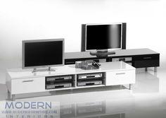 Modern TV Stand VA-Pronto Black or White
