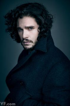 Jon Snow!  Photos: Actor Kit Harington on Season 4 of Games of Thrones | Vanity Fair