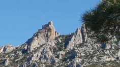 Le château de Quéribus face sud
