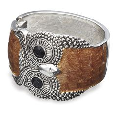 Owl Hinged Bracelet - Gifts for Life's Special Moments – Personalized, Humorous & Collectible