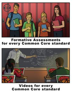 Videos, Formative Assessments, Homework Assignments, for Every Common Core standard are available free on OpenEd.com!