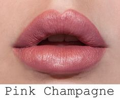 Pink Champagne LipSense looks fabulous on everyone! FB- Lasting LipColor by Jillian www.senegence.com/lipcolorbyjillian