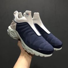 Cheap Nike Air Max Plus Slip SP TN White Dark Blue Mens shoes Only Price   60 To Worldwide and Free Shipping!! WhatsApp 8613328373859 2b7e63a88