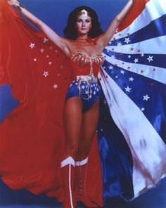 Wonder Woman (TV). Lynda Carter was must-watch TV on this 1970's TV series