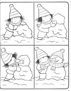 E-mail - Sonja Aerts - Outlook Winter Activities, Writing Activities, Preschool Activities, Sequencing Pictures, Sequencing Cards, Winter Kids, Winter 2017, Picture Story, Winter Theme