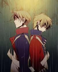 hetalia- Britain and America- OH MEIN GOTT, I cry every time I see these two in they're revolutionary uniforms.