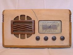 Marconi Model 147 Battery Operated Radio Receiver 1914 to 1939