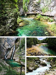 springs & falls in Slovenia
