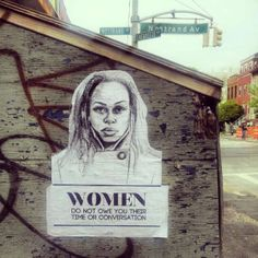Female-Empowering Street Art - 'Stop Telling Women to Smile' Tackles On-Going Street Harassment (GALLERY)