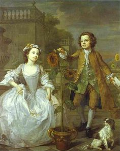 The Mackinen Children - William Hogarth, 1747