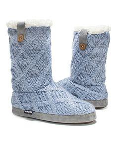 Look at this #zulilyfind! Light Blue Arden Slipper Boot - Women #zulilyfinds