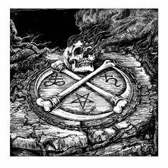 Kiss of death - Watain Lawless Darkness by Zbigniew M. Bielak