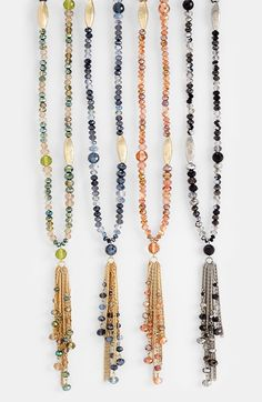 Nordstrom 'Tango Divine' Tassel Necklace available at #Nordstrom