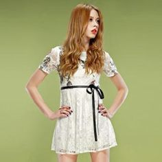 Buy 'ELF SACK – Printed Lace A-Line Dress' with Free International Shipping at YesStyle.com. Browse and shop for thousands of Asian fashion items from China and more!