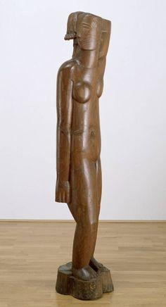 Ossip Zadkine, acacia wood, 'Venus' c.1922-4